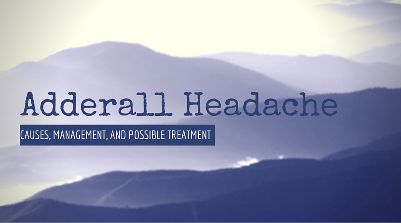 adderall headache