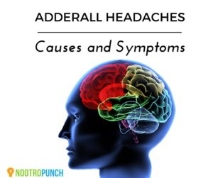 Headaches from Adderall