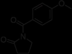 aniracetam-chemical composition300x226