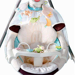 Ideal baby swing entertainment